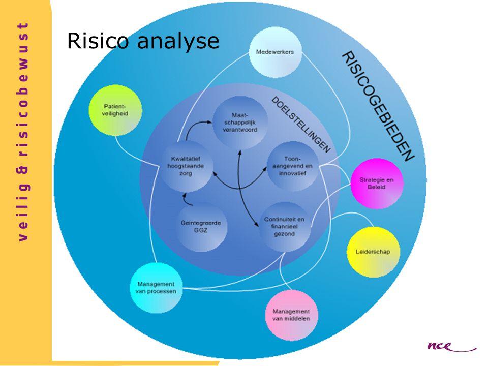 Risico analyse Waar lopen we tegenaan