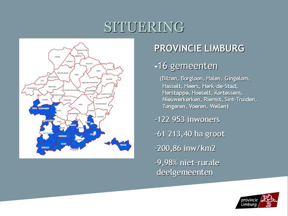 SITUERING PROVINCIE LIMBURG