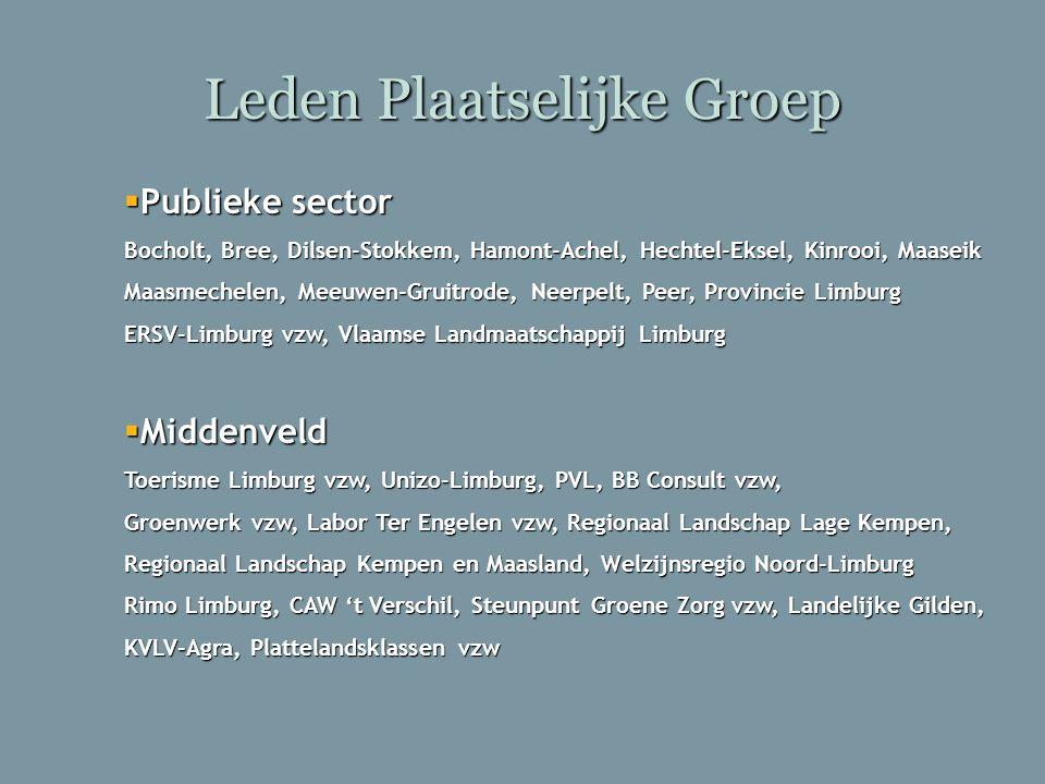 Leden Plaatselijke Groep