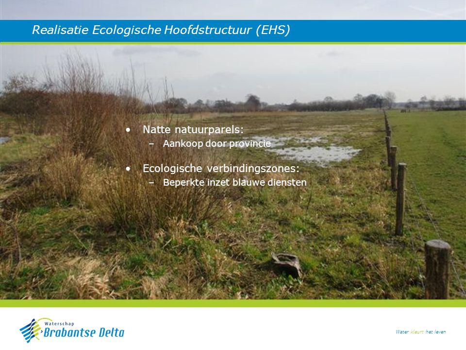 Realisatie Ecologische Hoofdstructuur (EHS)