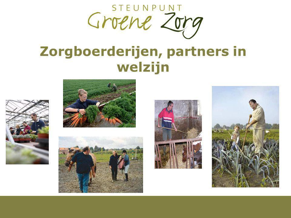 Zorgboerderijen, partners in welzijn