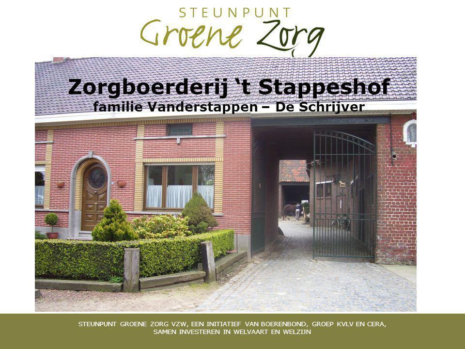 Zorgboerderij 't Stappeshof familie Vanderstappen – De Schrijver