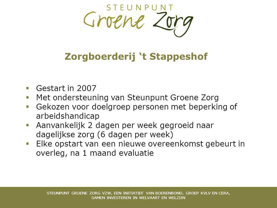 Zorgboerderij 't Stappeshof