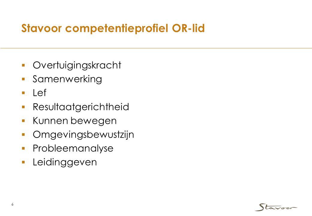 Stavoor competentieprofiel OR-lid