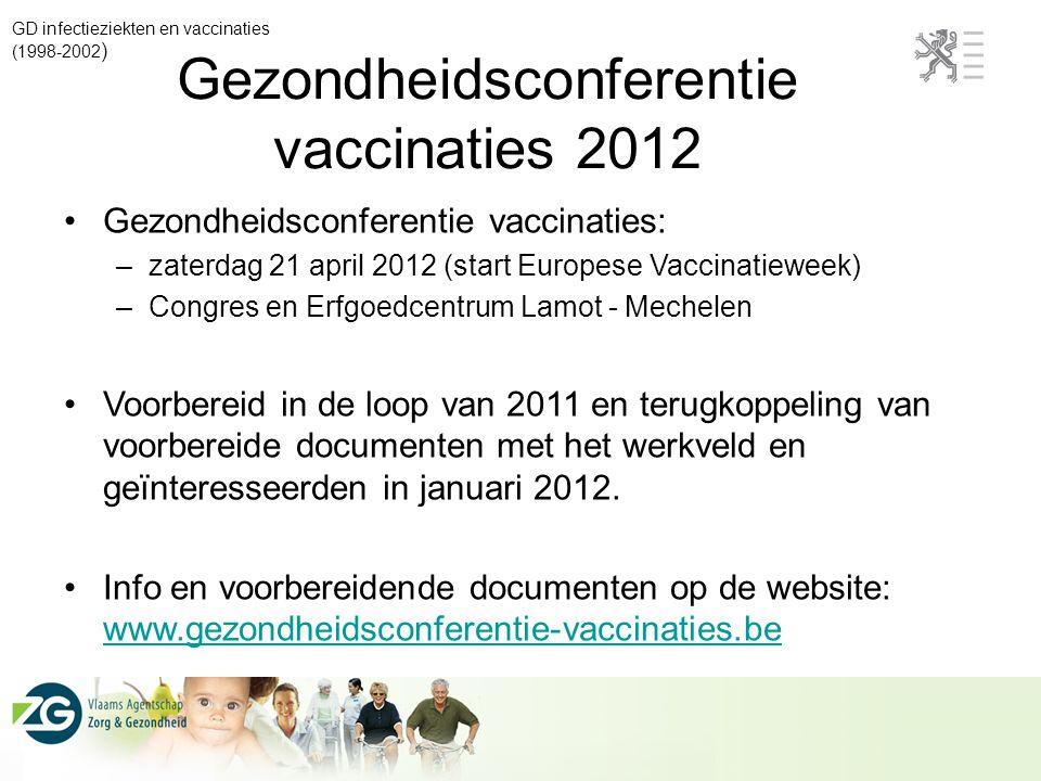 Gezondheidsconferentie vaccinaties 2012