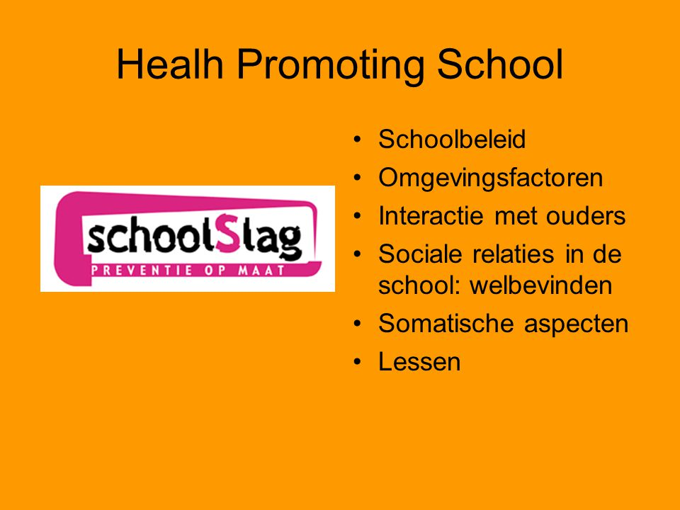 Healh Promoting School