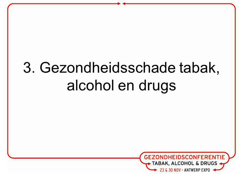 3. Gezondheidsschade tabak, alcohol en drugs