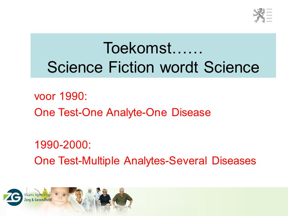 Toekomst…… Science Fiction wordt Science