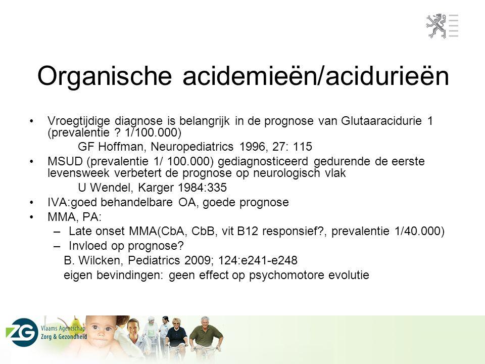 Organische acidemieën/acidurieën