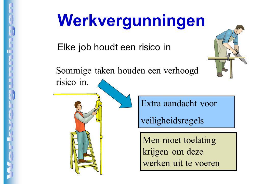Elke job houdt een risico in
