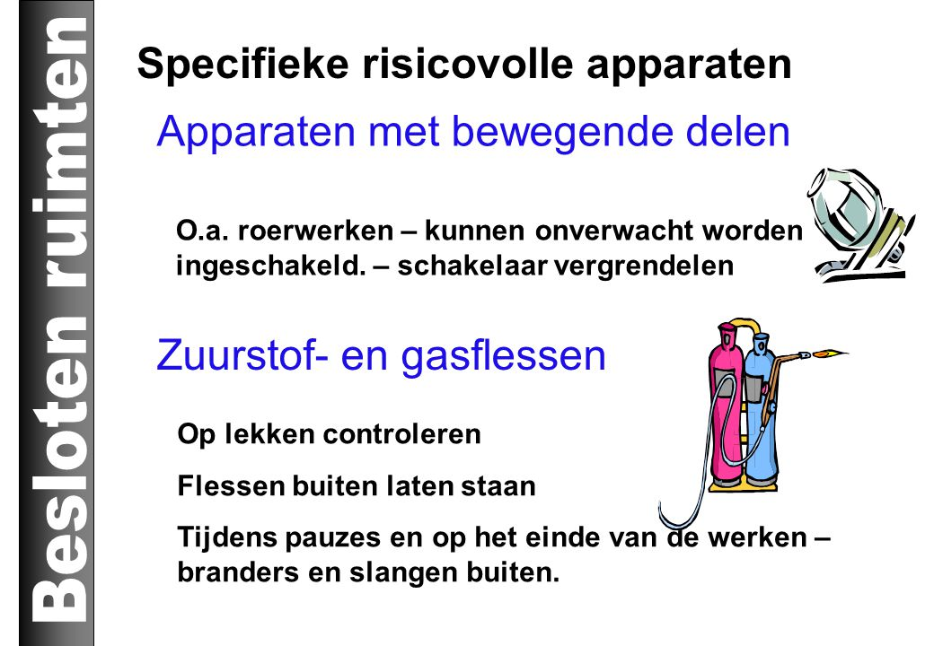 Specifieke risicovolle apparaten