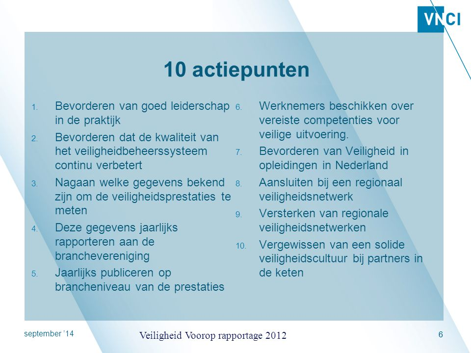 10 actiepunten Bevorderen van goed leiderschap in de praktijk