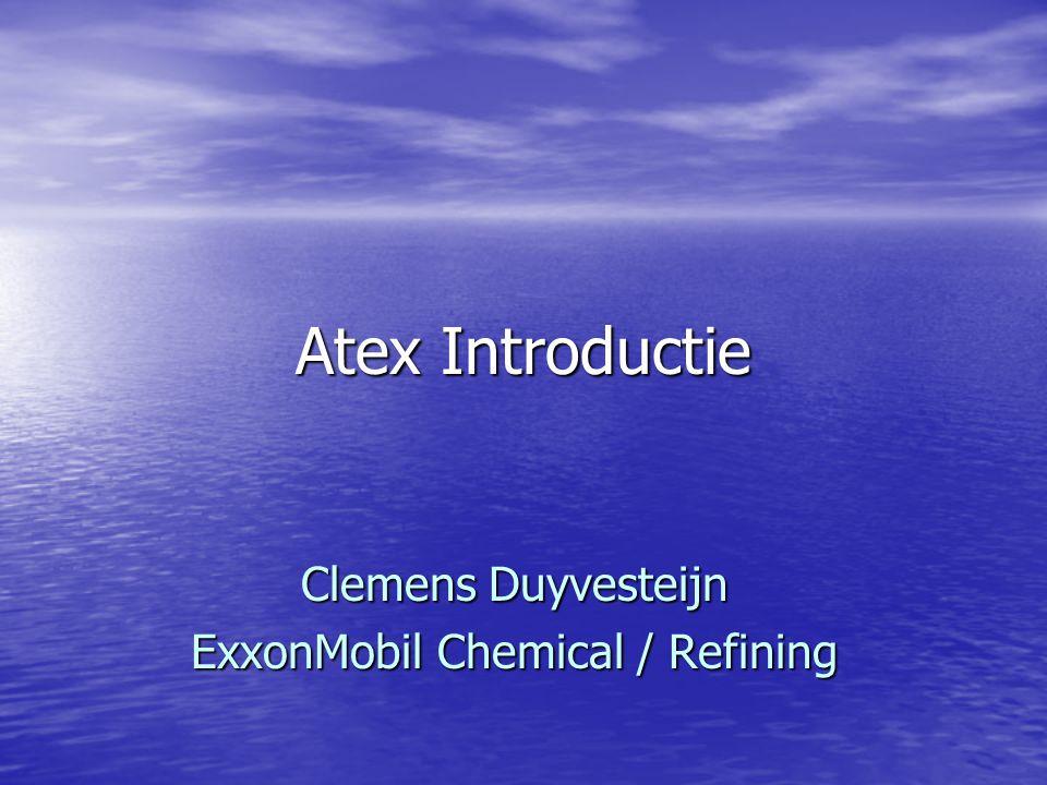 Clemens Duyvesteijn ExxonMobil Chemical / Refining