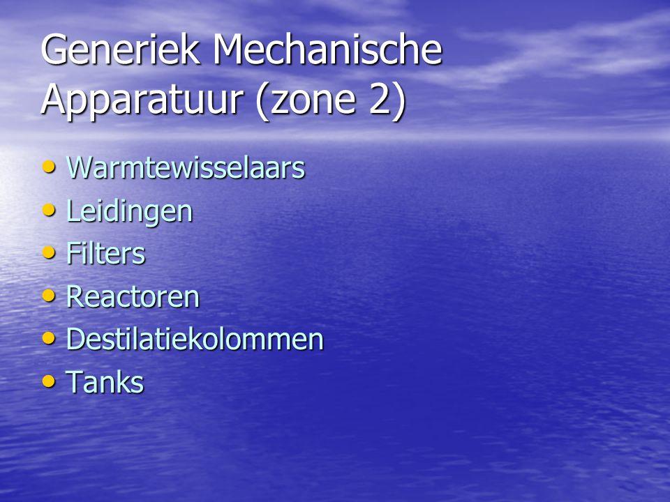 Generiek Mechanische Apparatuur (zone 2)
