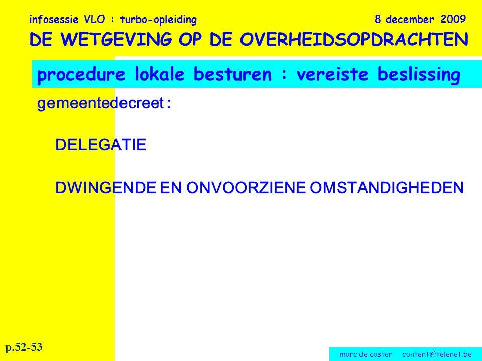 marc de caster content@telenet.be