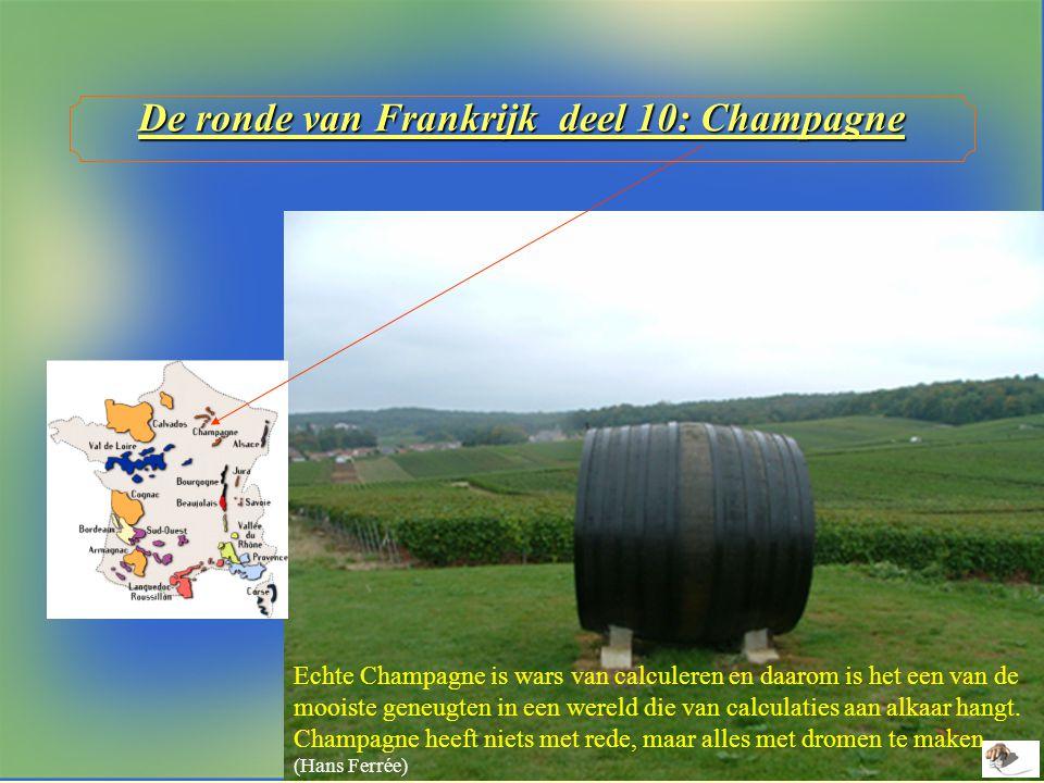De ronde van Frankrijk deel 10: Champagne
