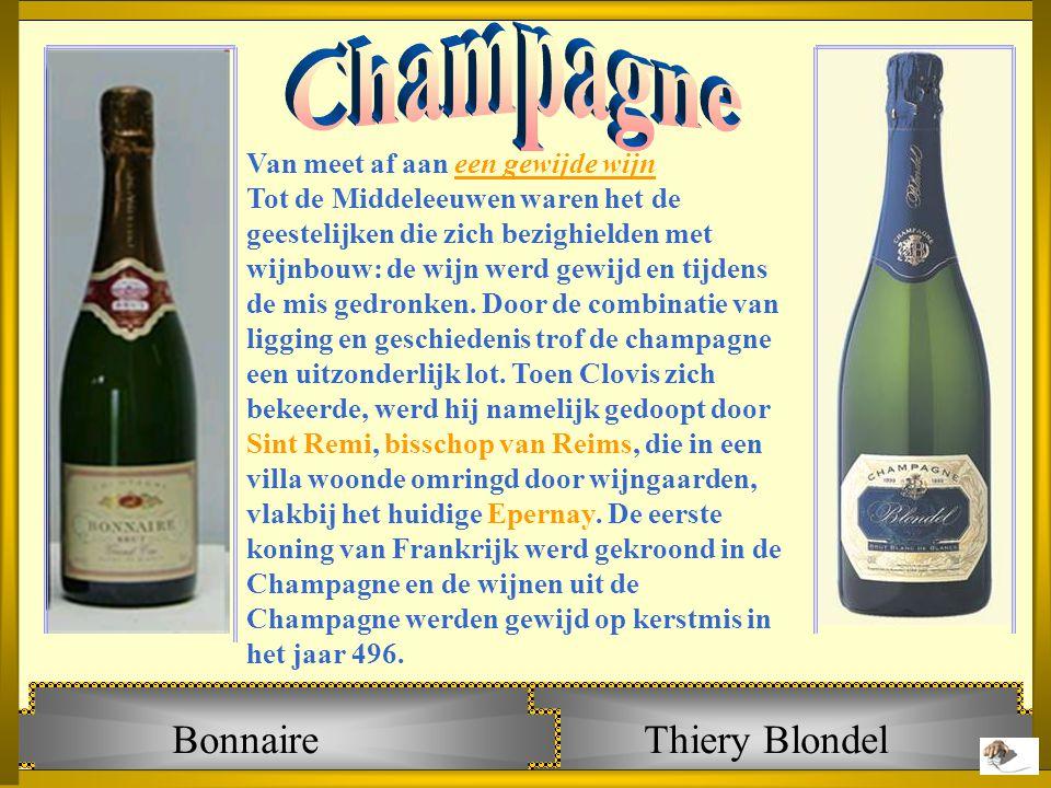 Bonnaire Thiery Blondel Champagne