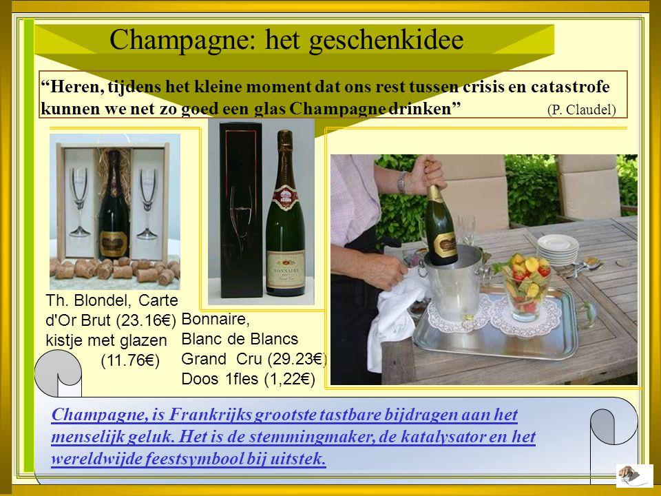 Champagne: het geschenkidee