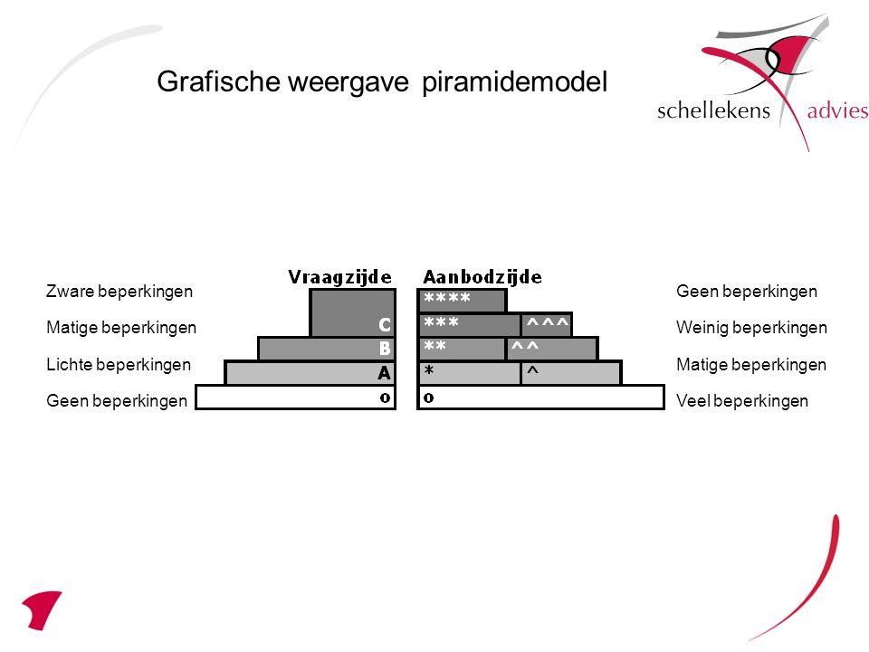 Grafische weergave piramidemodel