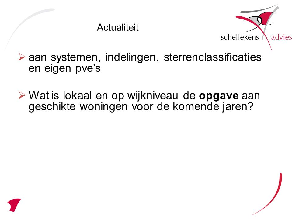 aan systemen, indelingen, sterrenclassificaties en eigen pve's