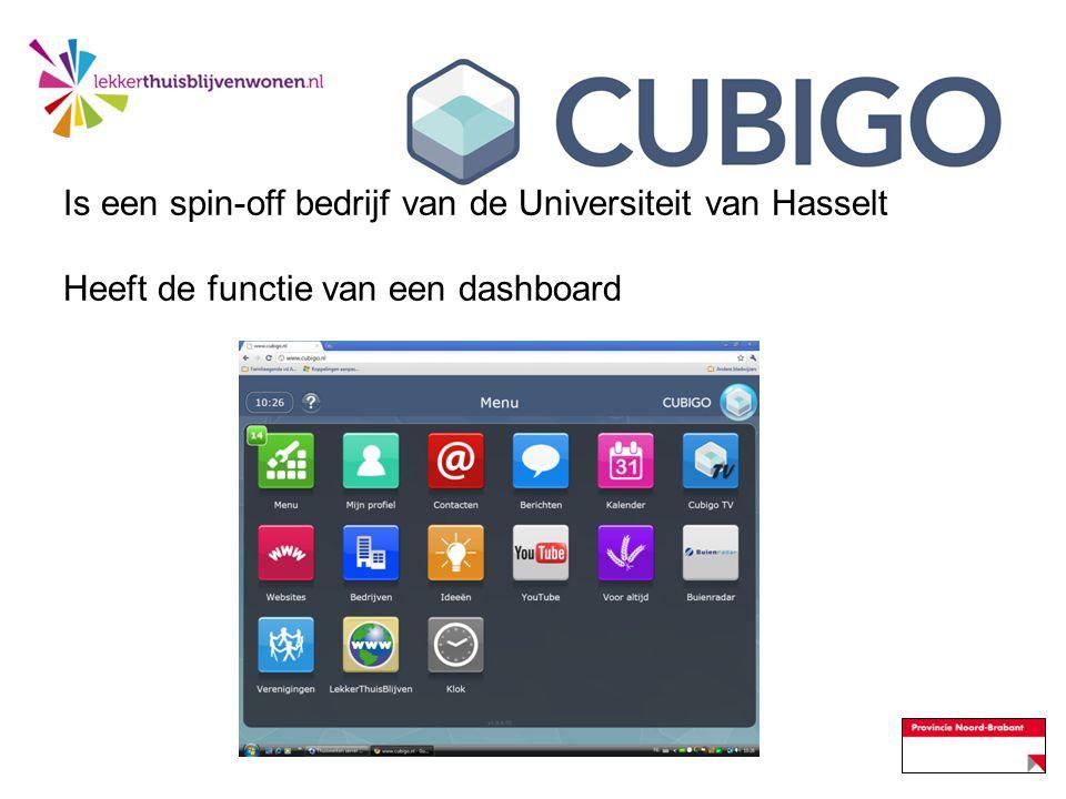 Is een spin-off bedrijf van de Universiteit van Hasselt