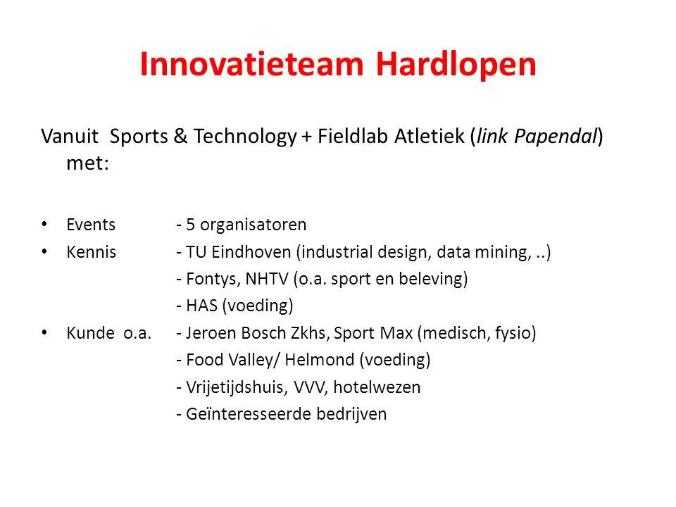 Innovatieteam Hardlopen