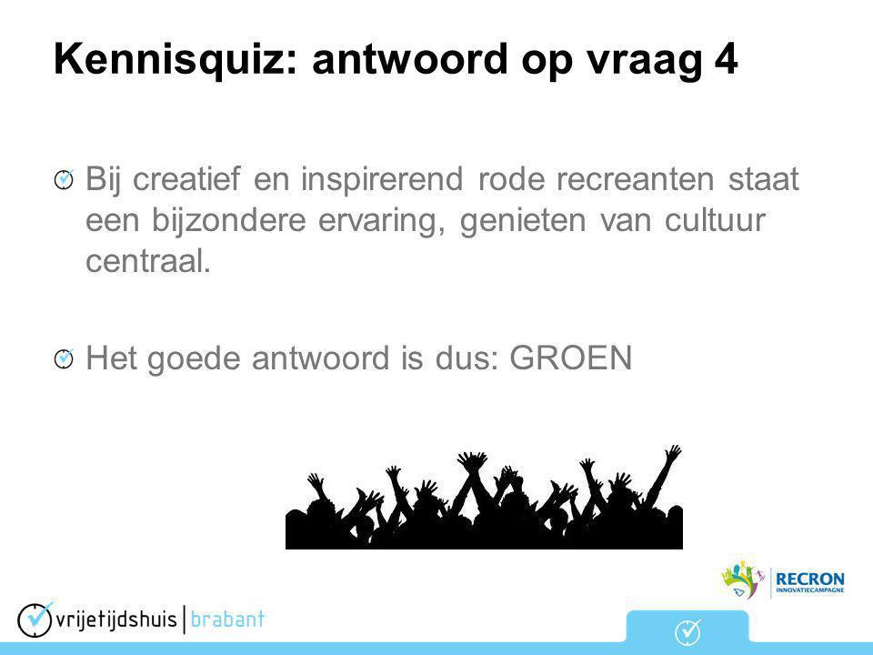 Kennisquiz: antwoord op vraag 4
