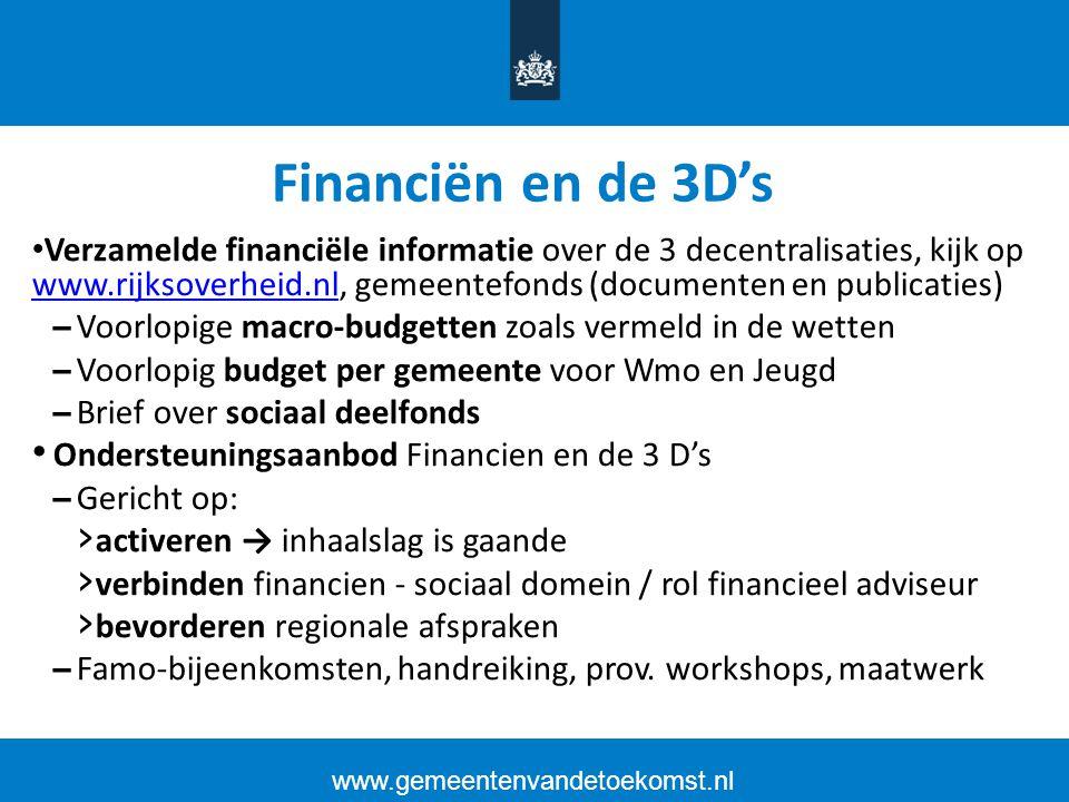 Financiën en de 3D's