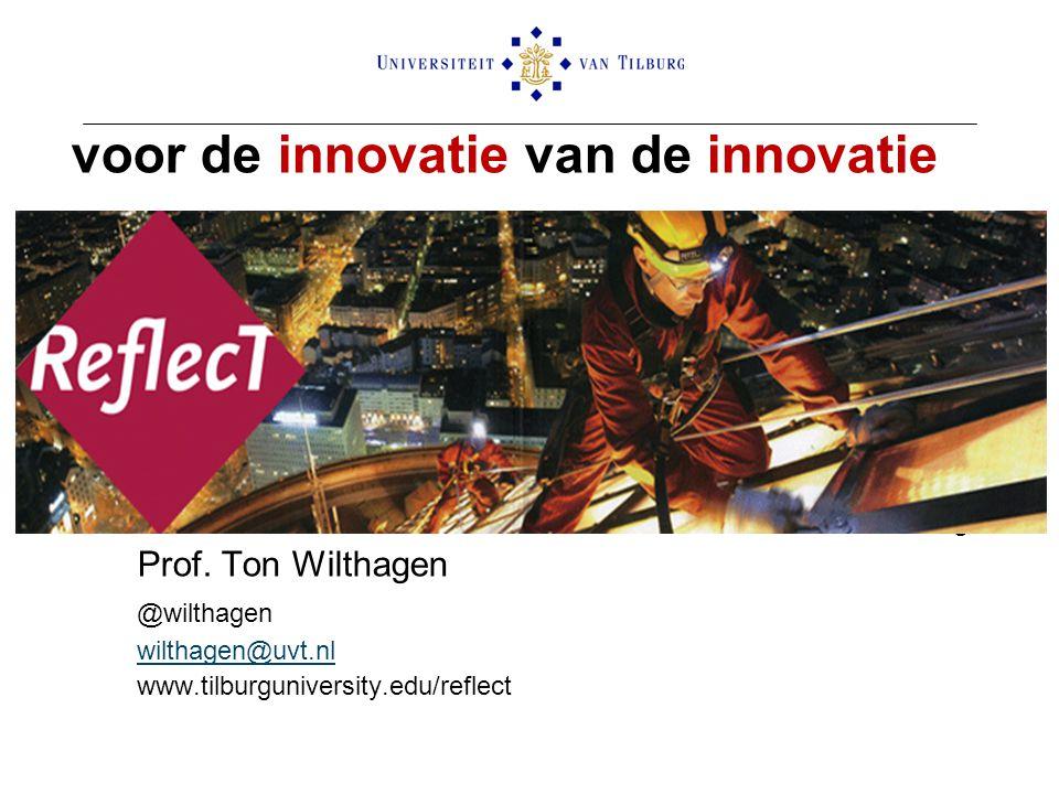 voor de innovatie van de innovatie