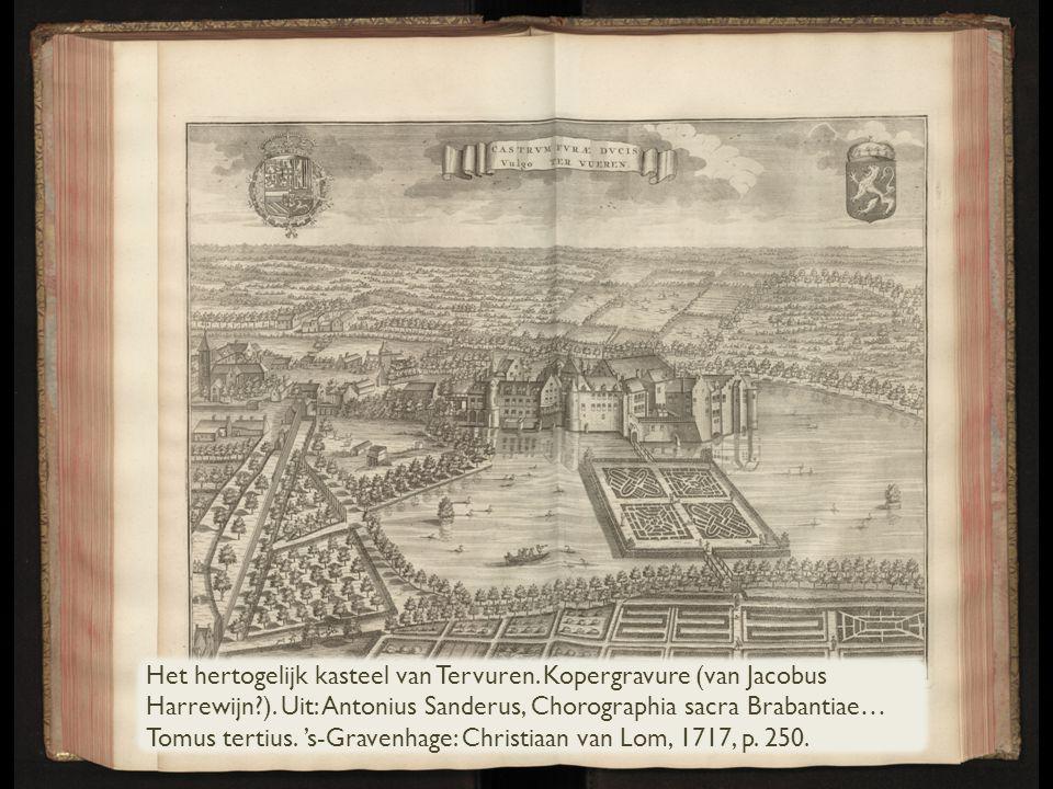 Het hertogelijk kasteel van Tervuren