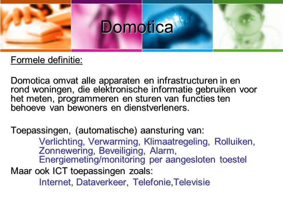 Domotica Formele definitie: