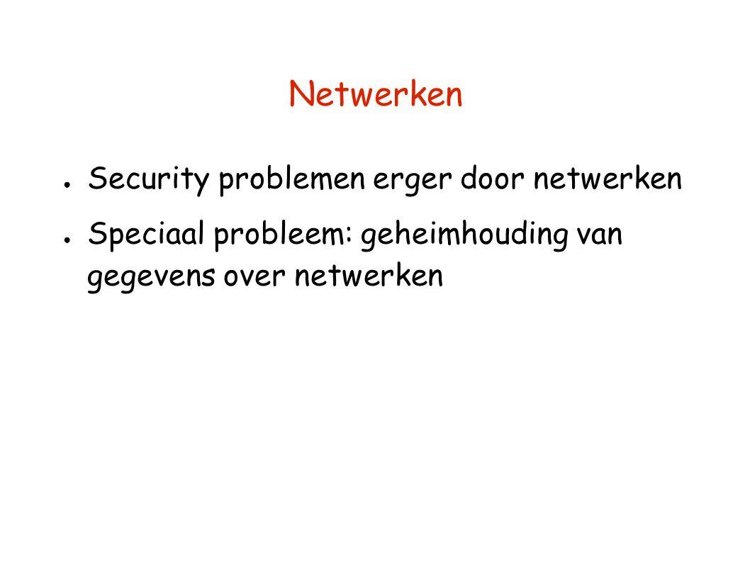 Netwerken Security problemen erger door netwerken
