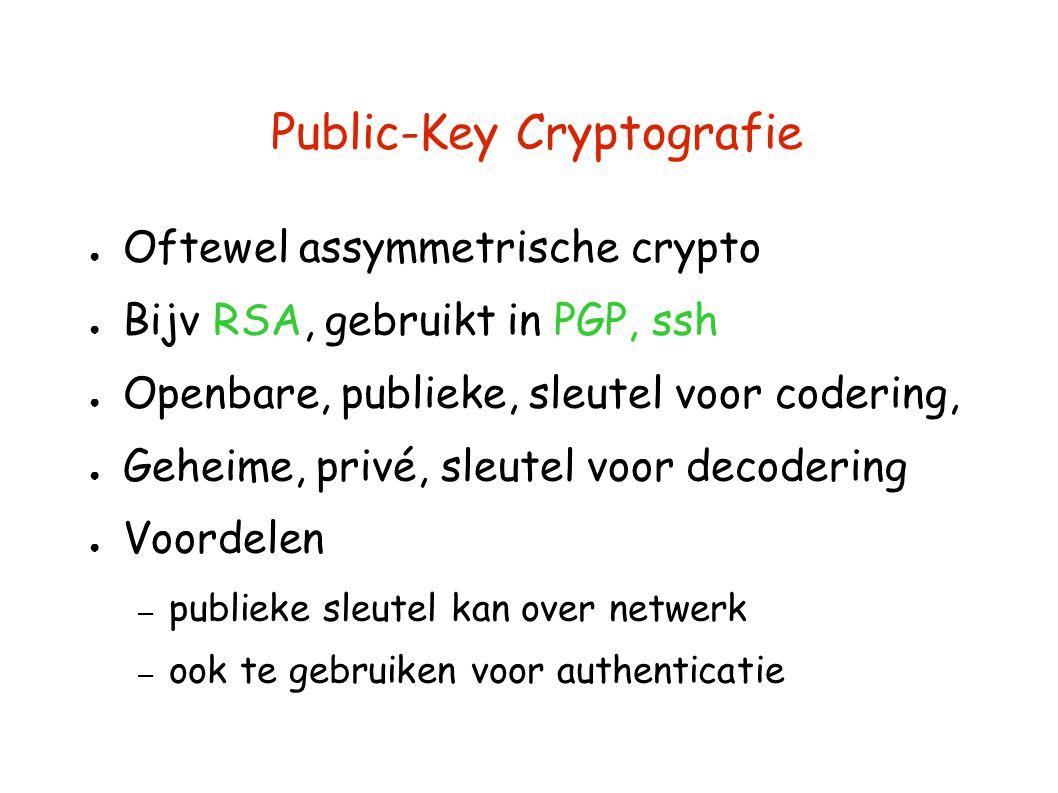 Public-Key Cryptografie