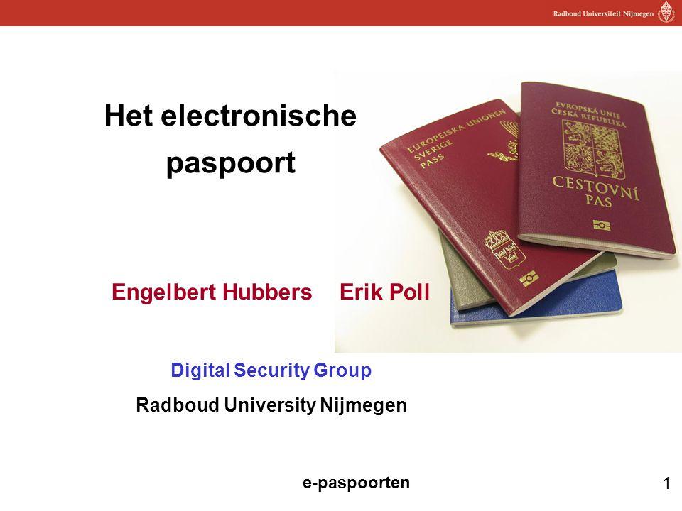 Het electronische paspoort