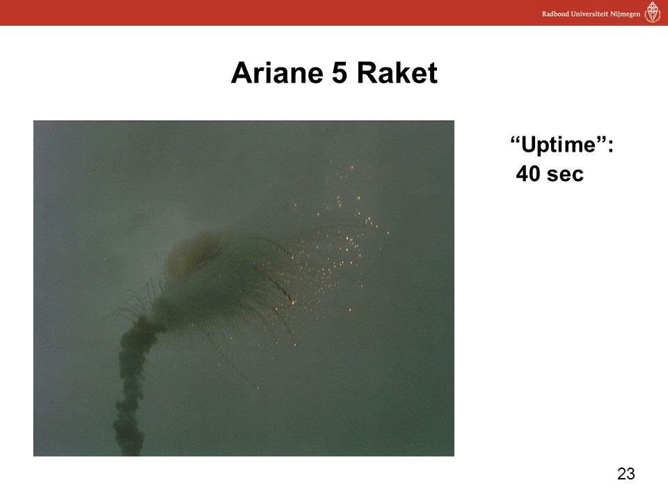 Ariane 5 Raket Uptime : 40 sec