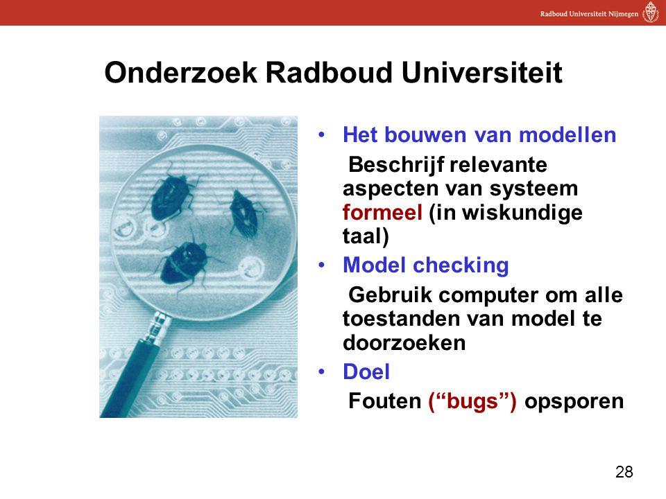 Onderzoek Radboud Universiteit