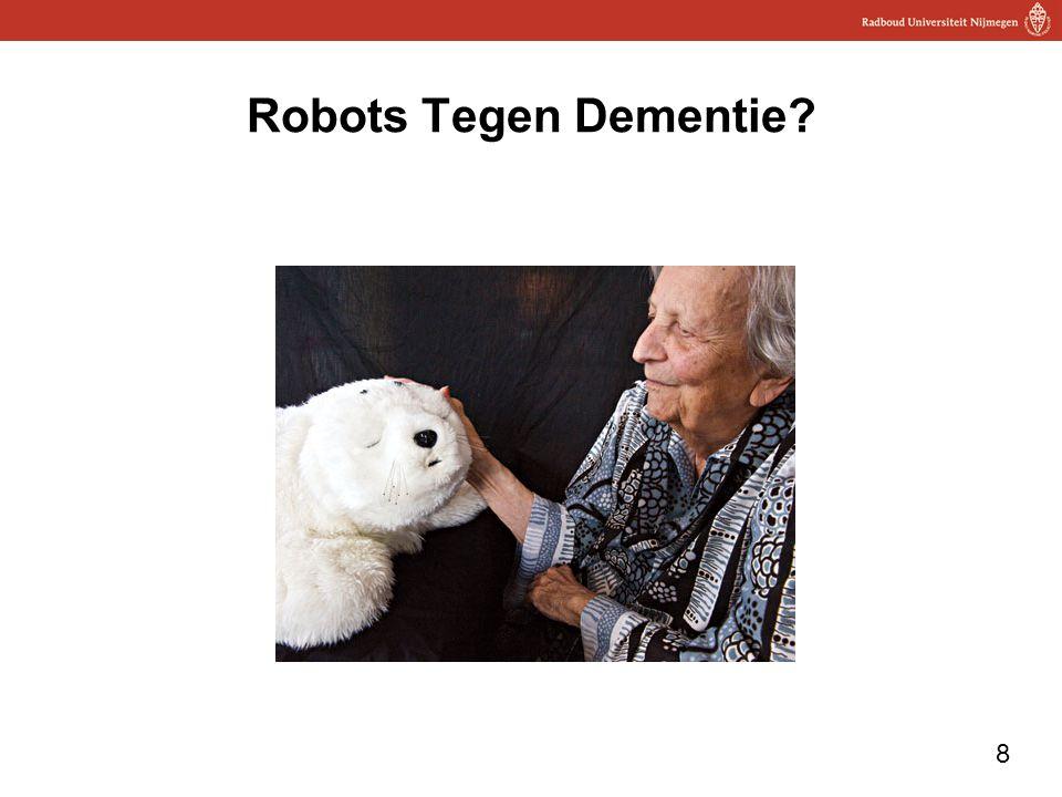 Robots Tegen Dementie