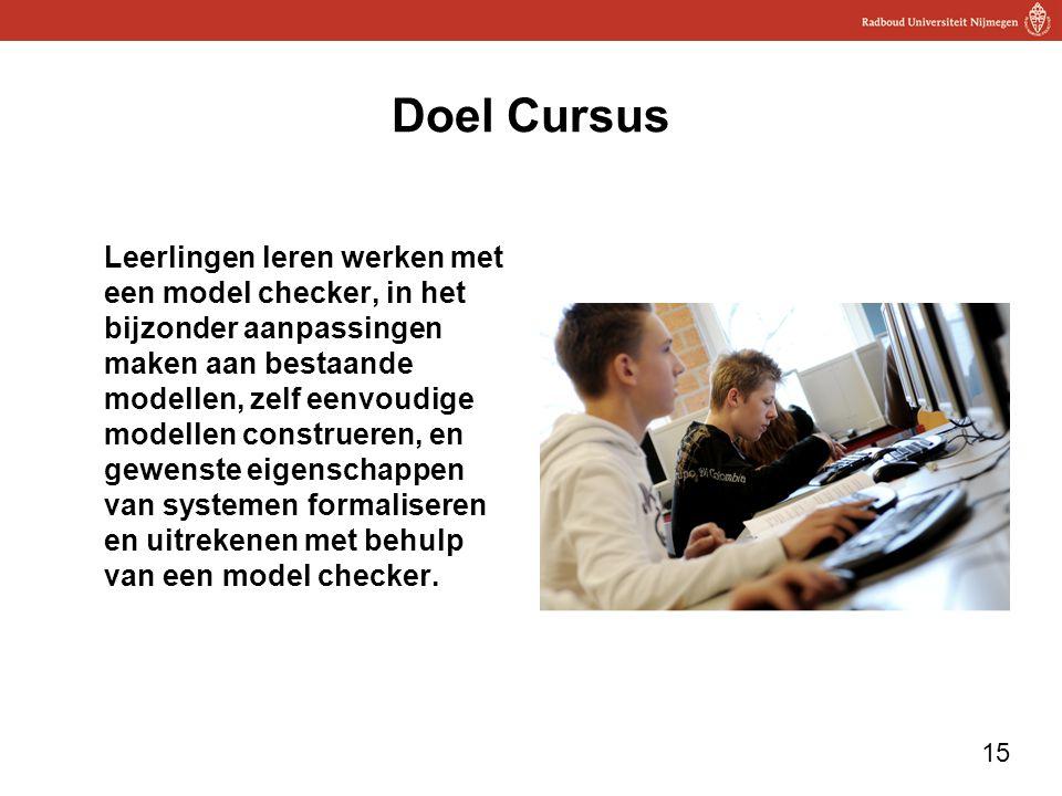 Doel Cursus