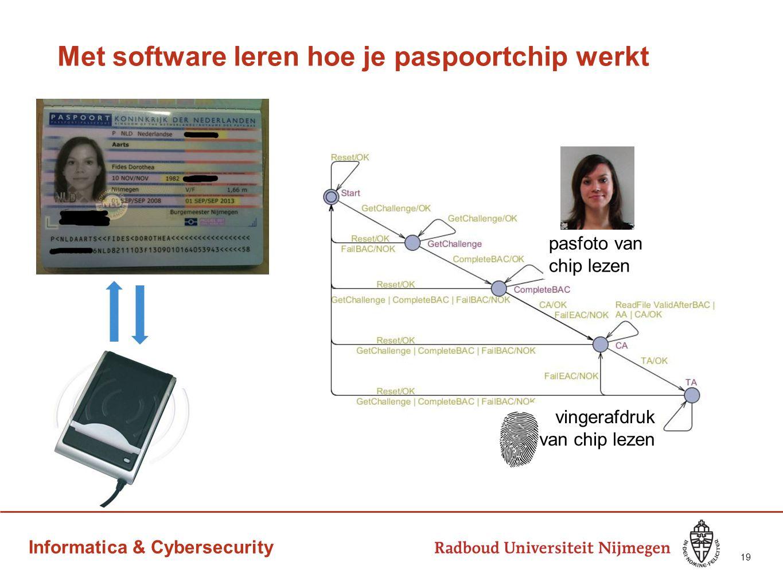 Met software leren hoe je paspoortchip werkt