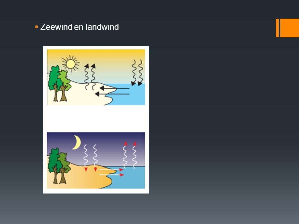 Zeewind en landwind