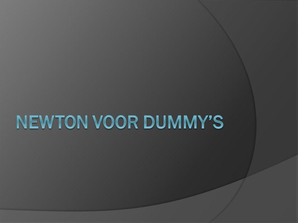 Newton voor dummy's