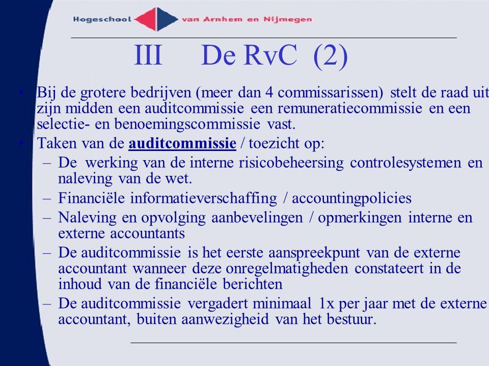 III De RvC (2)