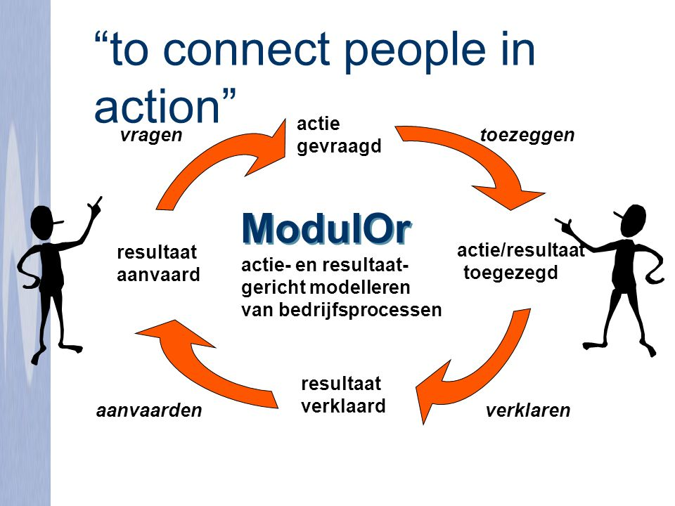 to connect people in action