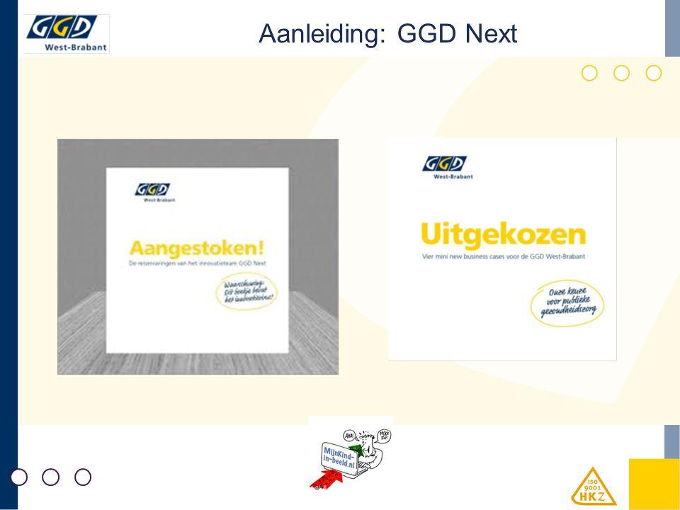 Aanleiding: GGD Next