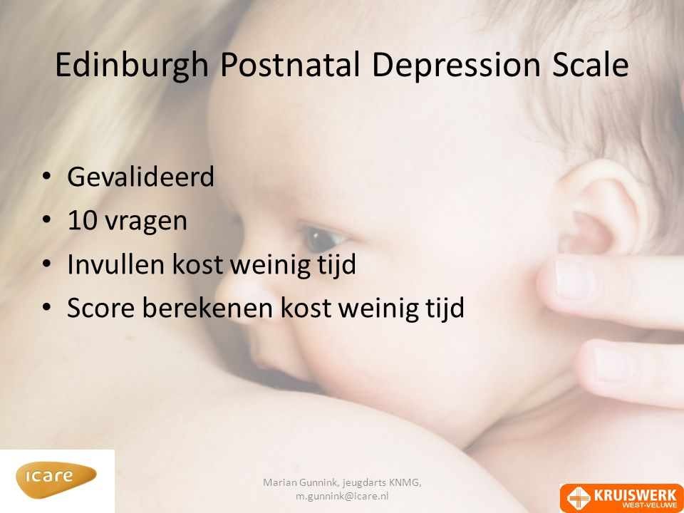 Edinburgh Postnatal Depression Scale