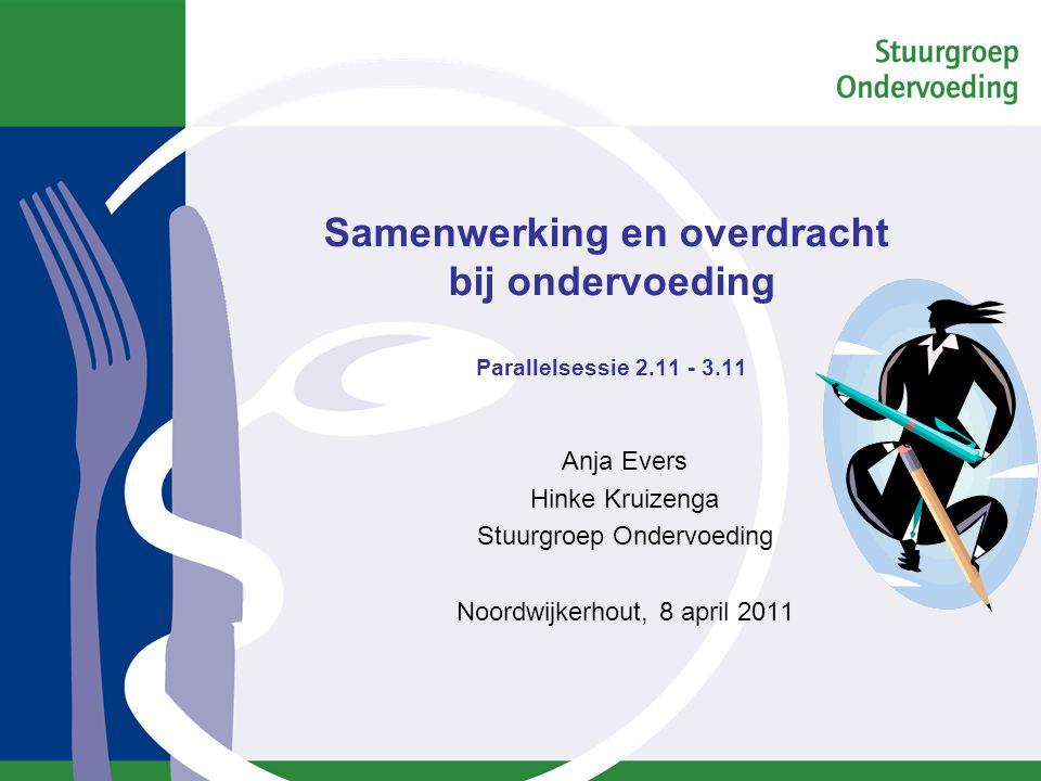 Programma 2.11 & 3.11 Inleiding Inventarisatie knelpunten