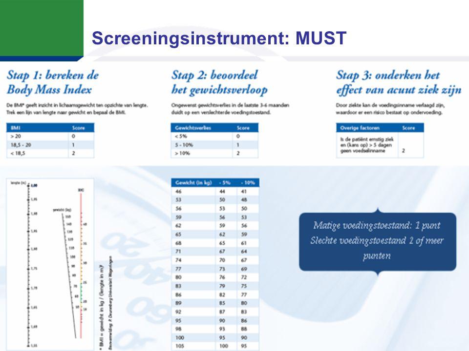 Screening geriatrische patiënten
