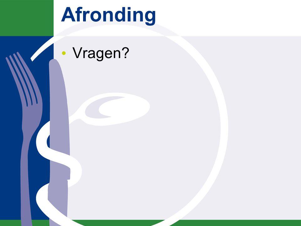 Literatuur www.stuurgroepondervoeding.nl Intranet instelling