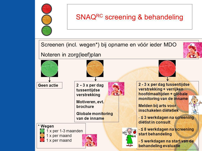 SNAQRC screening & behandeling
