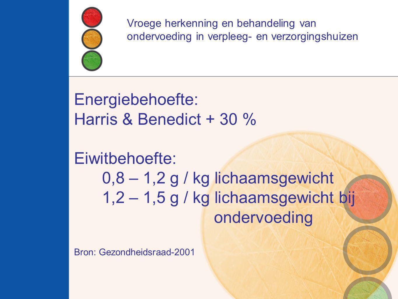 0,8 – 1,2 g / kg lichaamsgewicht